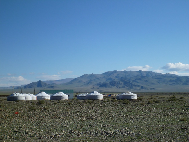 Most tourist ger camps are both beautiful and comfortable.  This one isn't.