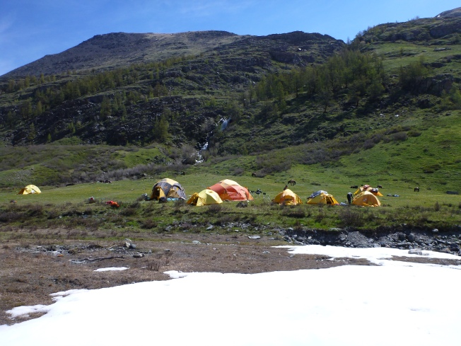 Yak Milk Valley camp