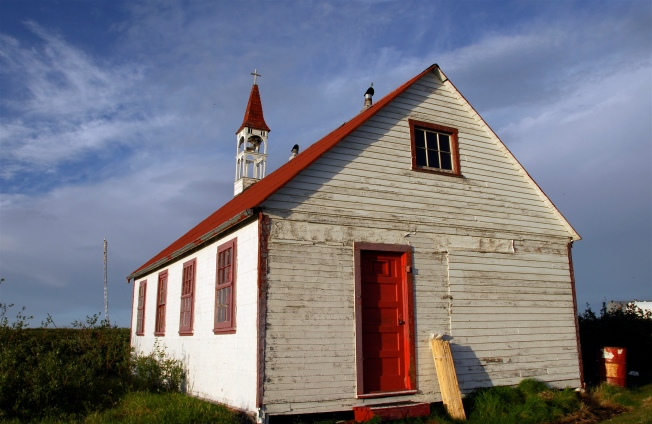 Catholic Church, Bathurst Inlet Village, 2008