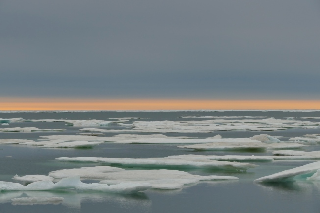 Beaufort Sea at sunset