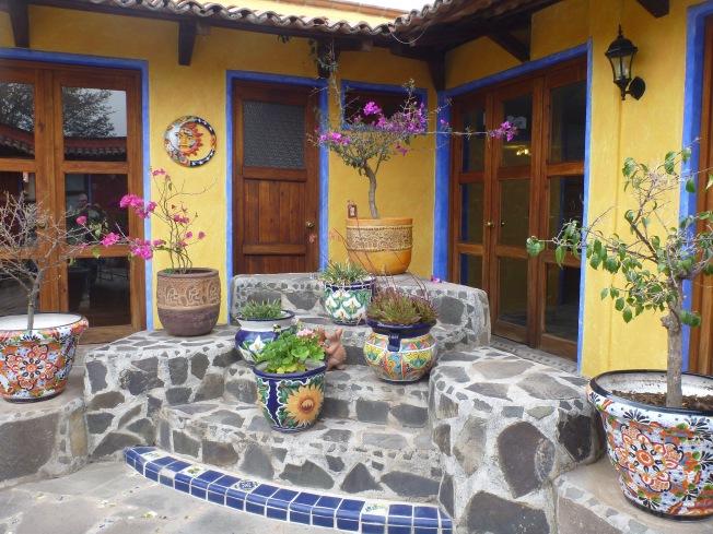 Courtyard, Rancho las Cascadas