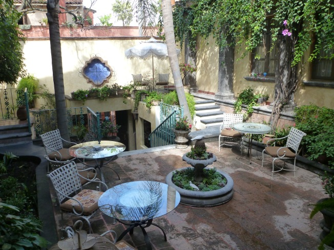 Another courtyard, this time in San Miguel de Allende.